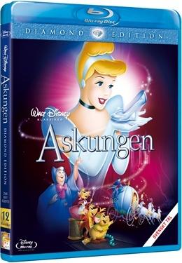 Askungen (BD + DVD) (1950)  hos WEBHALLEN.com