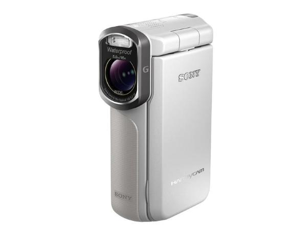Sony videokamera HDR-GW55VE Vattent�t - Vit