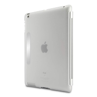 Belkin iPad3 SnapShield Secure works with SmartCover Clear