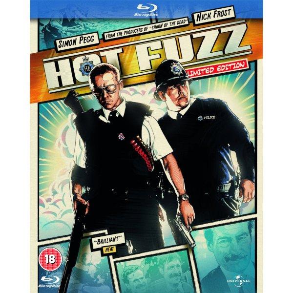 Hot Fuzz: Reel Heroes Sleeve  (UK import) hos WEBHALLEN.com