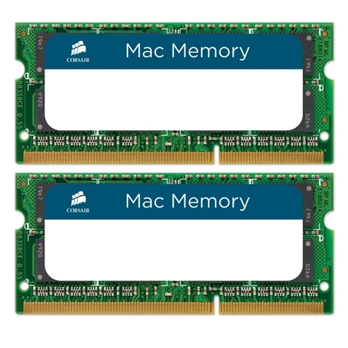 Corsair 8GB (2x4GB) / 1333MHz / DDR3 / CL9 / CMSA8GX3M2A1333C9 (Apple)