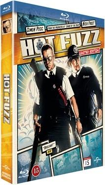 Hot Fuzz - Comic Book Collection (2007)  hos WEBHALLEN.com