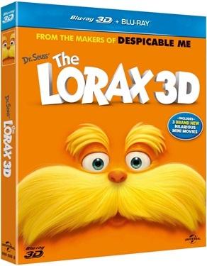 Lorax 3D (2012)  hos WEBHALLEN.com