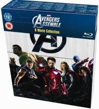 Marvel's The Avengers - 6-Disc Box Set (Blu-ray)(UK import)