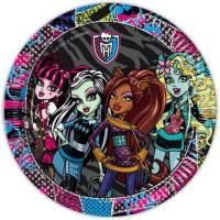 Monster High - Tallrik (23cm) - 10 st