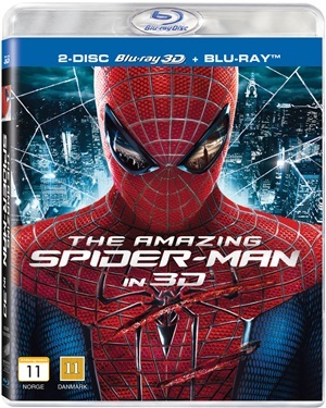 The Amazing Spider-Man (3D) (2012)  hos WEBHALLEN.com
