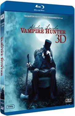 Abraham Lincoln: Vampire Hunter (3D + 2D + DVD) (2012)  hos WEBHALLEN.com