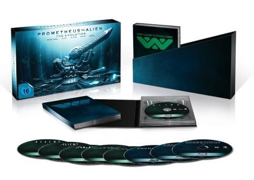 Prometheus to Alien: The Evolution - Collector's Edition Box  hos WEBHALLEN.com