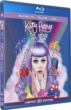 Katy Perry: Part of Me (3D + 2D + DVD) (2012)  hos WEBHALLEN.com