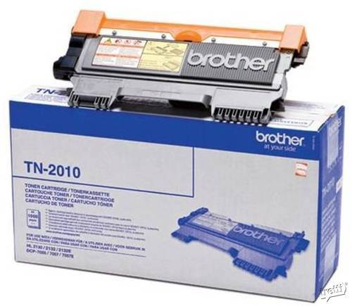 Brother TN2010 Svart - 1000 sidor