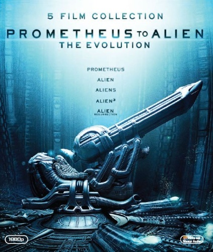 Prometheus to Alien: The Evolution - Box  hos WEBHALLEN.com