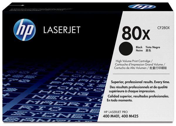 HP Toner 80X black HV LJ Pro 400 M401/MFP M425 680