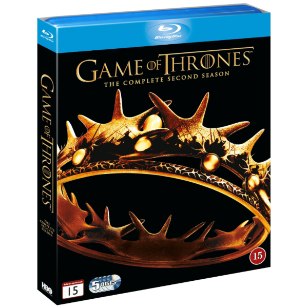 Game of Thrones - Säsong 2 (2012)  hos WEBHALLEN.com