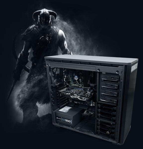 Webhallen Config D12-0401 - i5-3570K / 16GB / 120GB SSD / GTX 660 / DVD / Win8