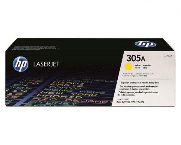 HP Toner 305A - Gul