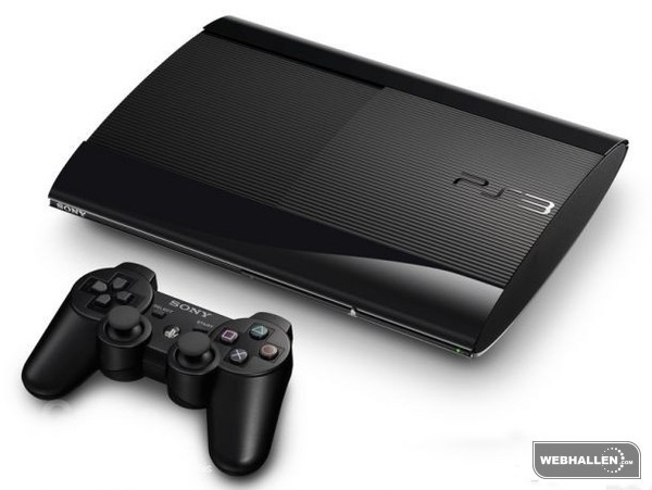 Playstation 3 Basenhet (PSthree) - Super Slim 500GB (Fyndvara - Klass 2)