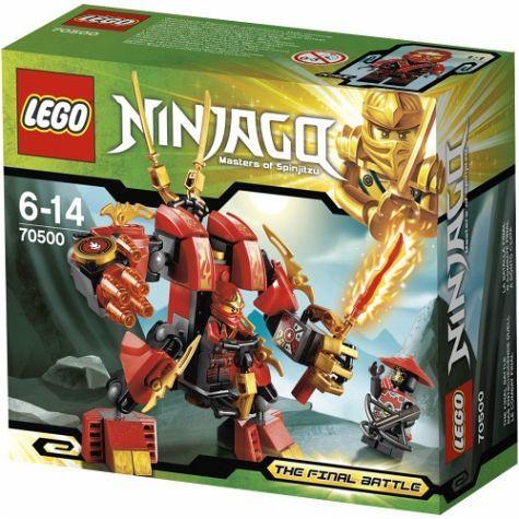 lego ninjago kais eldrobot 70500 lego ninjago lego. Black Bedroom Furniture Sets. Home Design Ideas