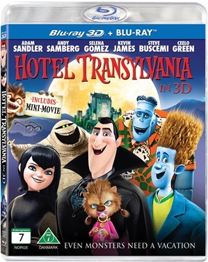 Hotel Transylvania (3D) (2012)  hos WEBHALLEN.com