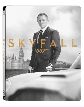 James Bond - Skyfall - Steelbook (2012)  hos WEBHALLEN.com