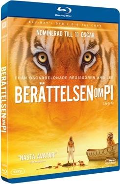 Berättelsen Om Pi (BD + DVD) (2012)  hos WEBHALLEN.com