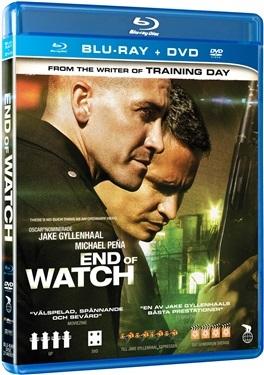 End of watch (2012)  hos WEBHALLEN.com