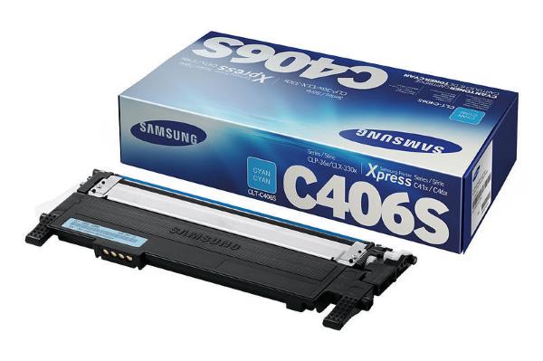 Samsung Toner till CLP-365 CLT-K406S/ELS Cyan