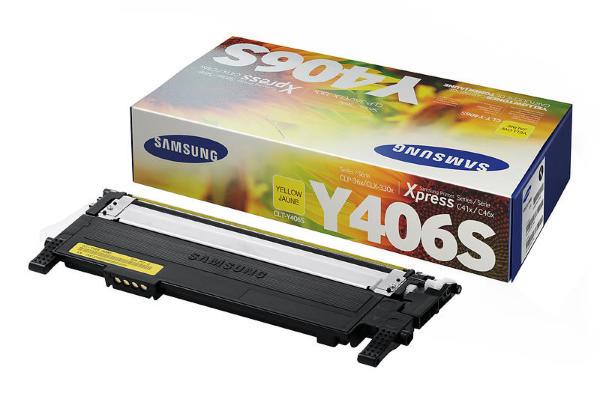 Samsung Toner till CLP-365 CLT-Y406S/ELS Yellow