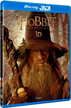 Hobbit - En oväntad resa (3D + BD 4-disc) (2012)  hos WEBHALLEN.com
