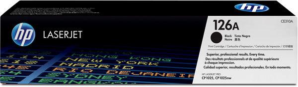 HP 126A TONER BLACK 1,2K - CP1025