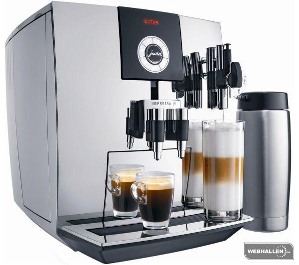 Jura Espressomaskin Impressa J9 One Touch - Krom (Fyndvara - Klass 1)