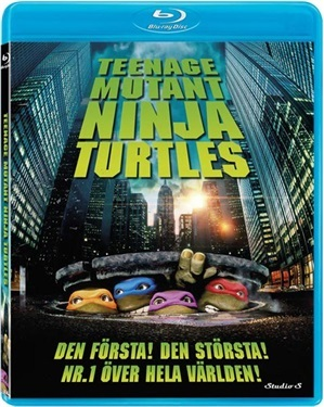 Teenage Mutant Ninja Turtles (1990)  hos WEBHALLEN.com