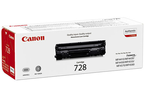 Canon Toner 728 – Svart