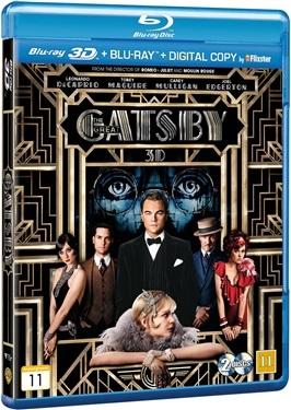 Den store Gatsby (3D) (2013)  hos WEBHALLEN.com