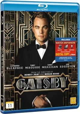 Den store Gatsby (2013)  hos WEBHALLEN.com