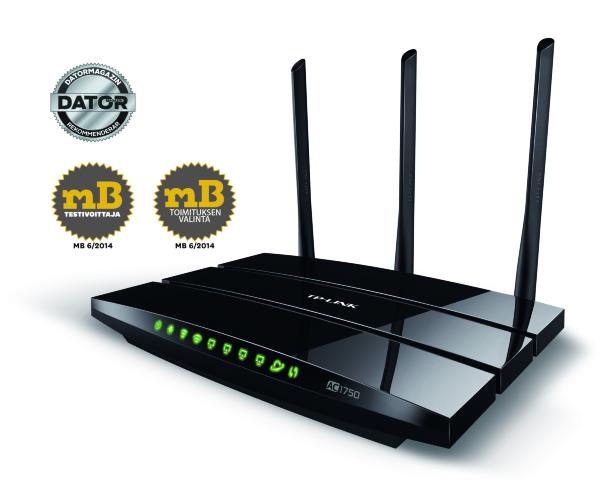 TP-Link Archer C7 – AC1750 / Gigabit Ethernet