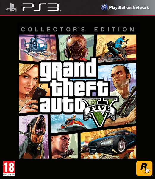 Grand Theft Auto (GTA) V (5) Collectors