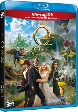 OZ The great and Powerful 3D (2013)  hos WEBHALLEN.com