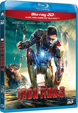 Iron Man 3 3D (2013)  hos WEBHALLEN.com