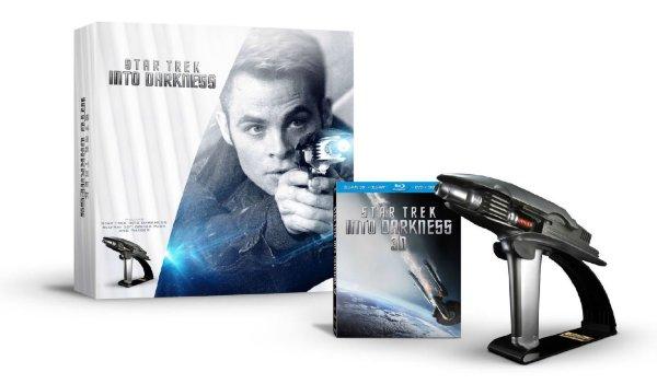 Star Trek Into Darkness Starfleet Phaser Limited Edition Gift Set (BD + 3D + DVD)(IMPORT) hos WEBHALLEN.com