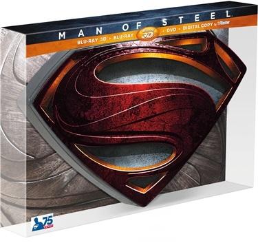 Man of Steel (3D Blu-ray - Limited Gift Box) (3 disc) hos WEBHALLEN.com