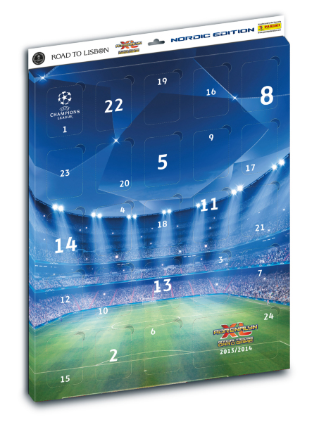 Panini Adrenalyn XL Champions League 13/14 - Adventskalender