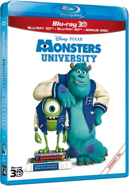 Monsters University 3D (2013)  hos WEBHALLEN.com