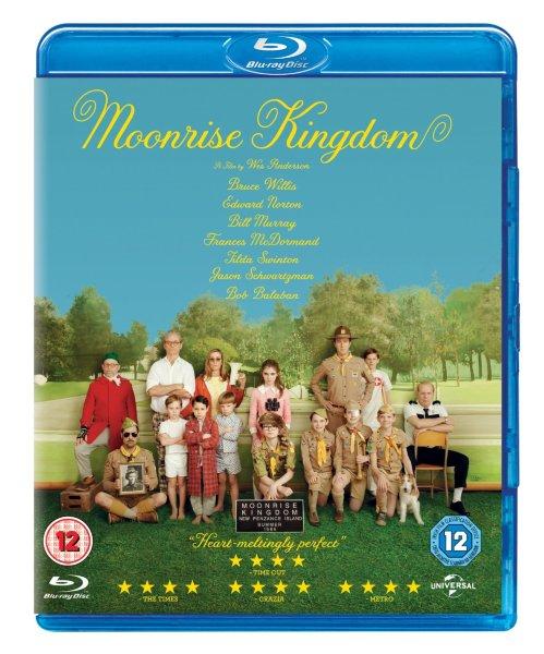 Moonrise Kingdom  (UK import) (2012) hos WEBHALLEN.com
