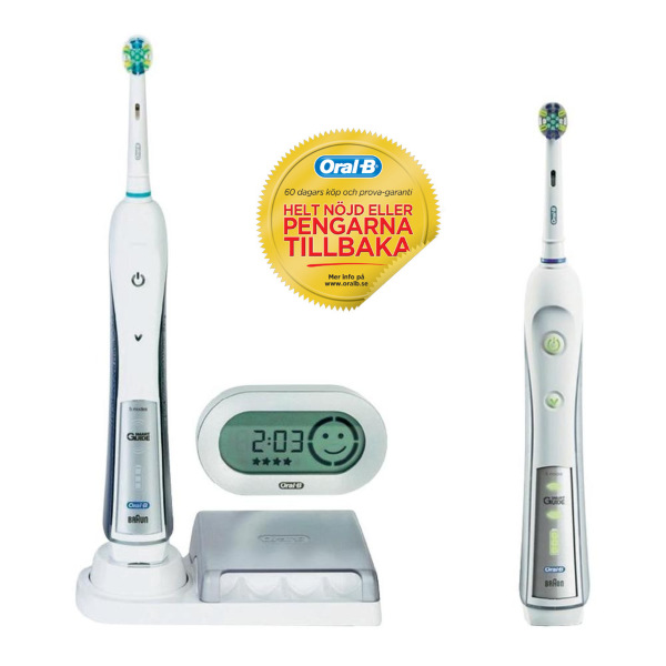 oral b eltandborste professionalcare triumph 5500 duo eltandborstar tandv rd. Black Bedroom Furniture Sets. Home Design Ideas
