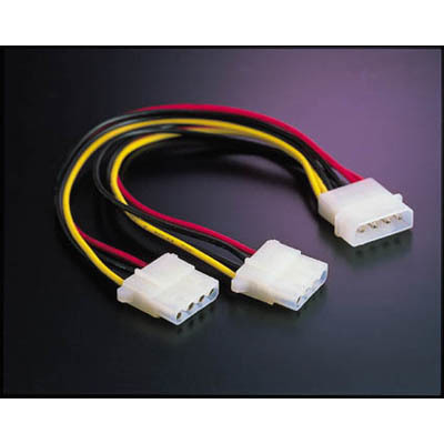 Deltaco 4-Pin Y-Kabel