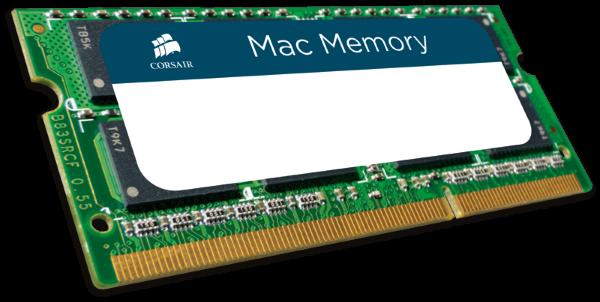 Corsair 8GB (1x8GB) 1600MHz / DDR3L / CL11 / CMSA8GX3M1A1600C11 (Apple)