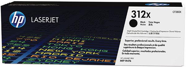 HP Toner 312X - Svart 4400 Sidor