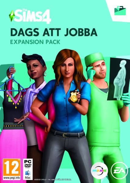 The Sims 4 Dags att Jobba (Svensk)