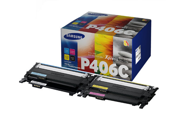 Samsung - CLT-P406C Toner CMYK Ekonomipack