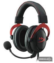 HyperX Cloud 2 Gaming Headset – Red (Fyndvara – Klass 2)